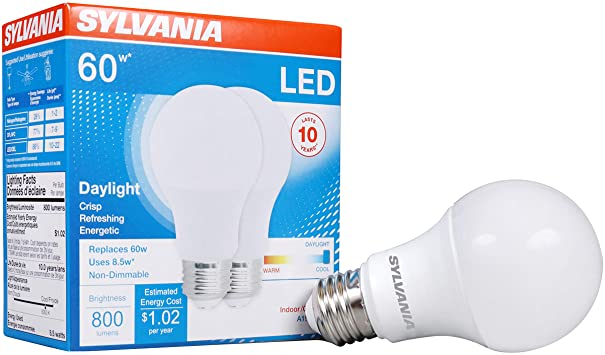 Latest 60 W Equivalent LED A19 Bulb for $2.49
