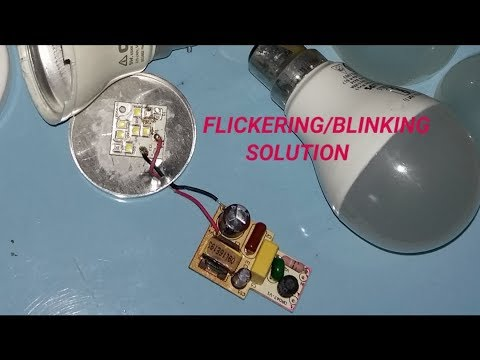 Reducing Flicker in LED Lighting